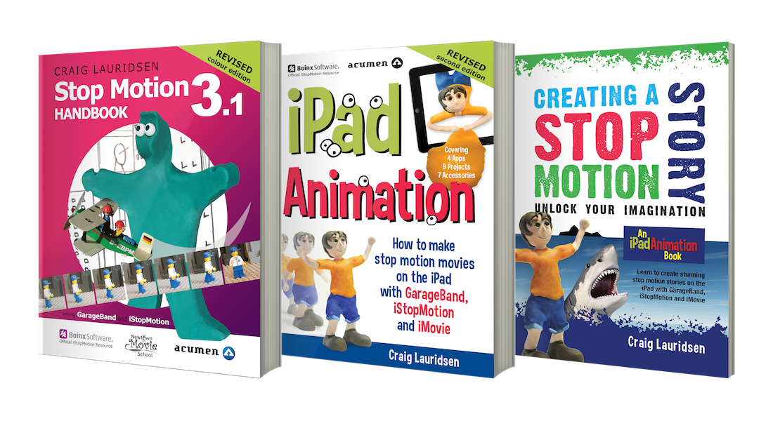 iPad Animation Books and More by Craig Lauridsen
