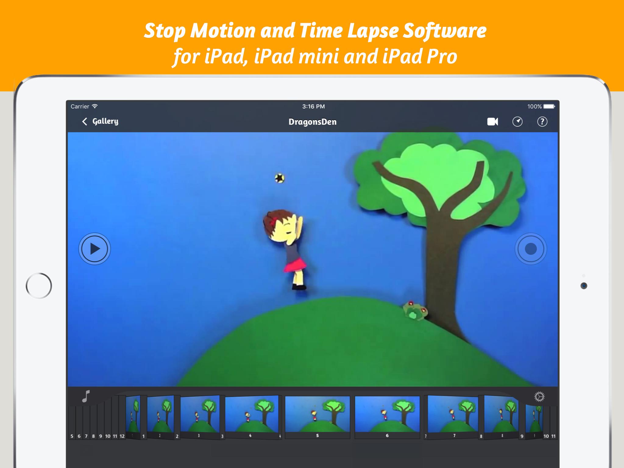 iStopMotioniPad Clip
