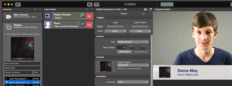 mimoLive Screenshot