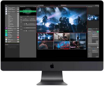 iMacPro running mimoLive