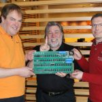 Boinx founders and Steve Wozniak