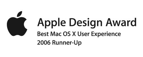 apple design award 2006 black