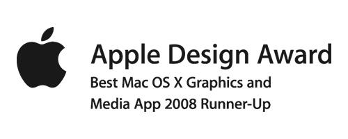 apple design award 2008 black